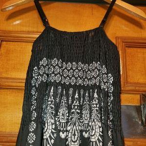 Just Love Dresses - Just Love Maxi Dress M Medallion Print Adj. Straps
